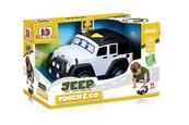 Bburago junior 81801 Jeep Wrangler samochód dotknij i jedź