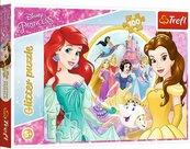Puzzle 100 Glitter Wspomnienia Belli i Arielki