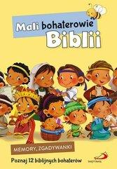 Gra memory i zgadywanki. Mali bohaterowie Biblii