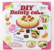 Zestaw urodzinowy tort + akcesoria