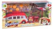 Auto wycieczkowe fast food 25 cm + akcesoria