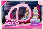 Lalka Anlily 30 cm w helikopterze