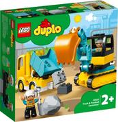 LEGO 10931 DUPLO Ciężarówka i koparka gąsienicowa p4