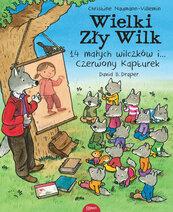 Wielki zły wilk 14 małych wilczków i czerwony kapturek
