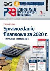 Sprawozdanie finansowe za 2020 r. instrukcja sporządzania