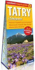 Tatry i Zakopane laminowany map&guide 2w1: przewodnik i mapa