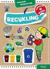 Recykling. Naklejki edukacyjne