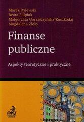 Finanse publiczne Aspekty teoretyczne i praktyczne