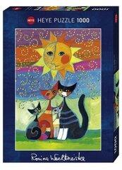 Puzzle 1000 Szcześliwa rodzinka pod słońcem