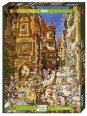 Puzzle 1000 Romantyczne miasto - Dzień
