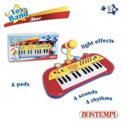 Bontempi Star 24 key Keyboard z mikrofonem 30827 DANTE