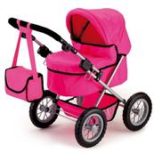 Bayer Wózek głęboki dla lalki różowy Trendy 13029AA