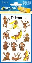 Tatuaże - Małpki