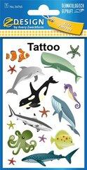 Tatuaże - Ssaki morskie