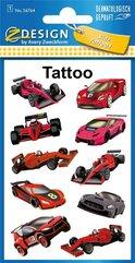 Tatuaże - Samochody wyścigowe