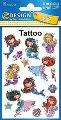 Tatuaże - Syrenki