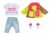 Baby born - Kolorowy płaszcz 43cm
