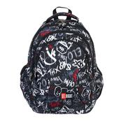 Plecak 4-komorowy STRIGHT BP-02 Slang graffiti mkml MAJEWSKI