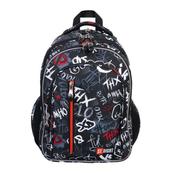 Plecak 4-komorowy STRIGHT BP-68 Slang graffiti mkml MAJEWSKI