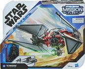 Star Wars Mission Fleet Kylo Ren i TIE Whisper