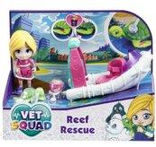 Super Vet Squad. Laleczka Emily z łodzią