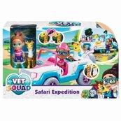 Super Vet Squad. Laleczka Yara z samochodem