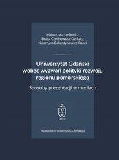 Uniwersytet Gdański wobec wyzwań polityki..