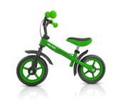 Rowerek biegowy Dragon z hamulcem zielony green MILLY MALLY