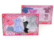 Ubranka dla lalki 29cm Defa Lucy mix 508170 cena za 1 szt