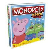MONOPOLY Junior Peppa Pig Świnka Peppa gra F1656 p6 HASBRO