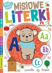 Książeczka Nauka z misiem. Misiowe literki. Books and fun