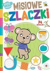 Książeczka Nauka z misiem. Misiowe szlaczki. Books and fun
