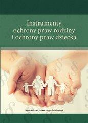 Instrumenty ochrony praw rodziny i ochrony praw...