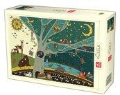 Puzzle 1000 Natura - Dzień i noc