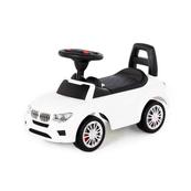 """Polesie 84538 Samochód-jeździk """"SuperCar"""" Nr3 z sygnałem dźwiękowym (biały)"""