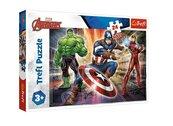 Puzzle 24 maxi W świecie Avengersów TREFL