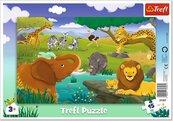 Puzzle ramkowe 15 Sawanna TREFL