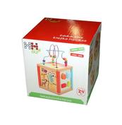 Drewniane pudełko - kostka edukacyjna 67474 HH POLAND