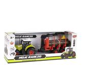 Traktor Moje Ranczo na baterie + akcesoria 39x15x11cm MC