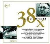 38 x Bertolt Brecht, 3 CD