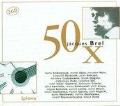 50 X Jacques Brel, CD