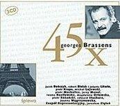 45 x Geroge Brassens, CD