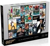 Puzzle James Bond 007 Posters 1000 elementów