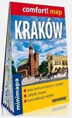 Comfort! map Kraków 1:20 000 minimapa