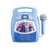 Zestaw do karaoke z mikrofonem, MP3, Bluetooth + efekty świetlne Kraina Lodu 2