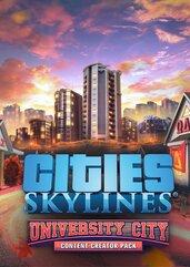 Cities Skylines - Content Creator Pack University City (DLC) (PC) klucz Steam