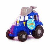 """Polesie 84866 Traktor-koparka """"Altaj"""" niebieski w siatce"""
