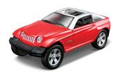 MI 21001-05 PR Jeep Jeepster czerwony