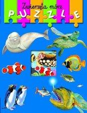 Książka z puzzlami. Zwierzęta mórz w.2012