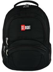 Plecak szkolny ST.RIGHT BP-05 Black/Czarny CACA